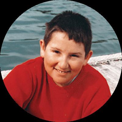 Eddie, at age 9